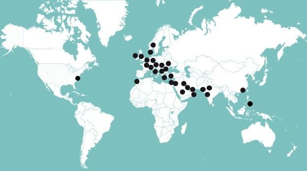 Les Cliniques DHI dans le monde