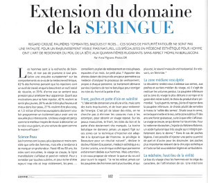 Extension du domaine de la seringue