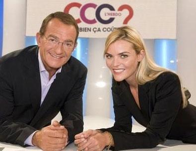 Jean pierre pernaud et sa co-présentatrice