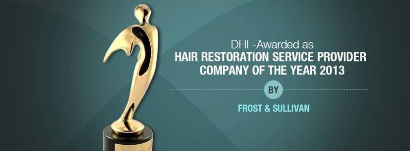 DHI : Meilleur prestataire de restauration capillaire en 2013